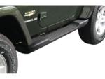 Factory Style Side Steps for 2007-17 Jeep Wrangler JK 2 Door