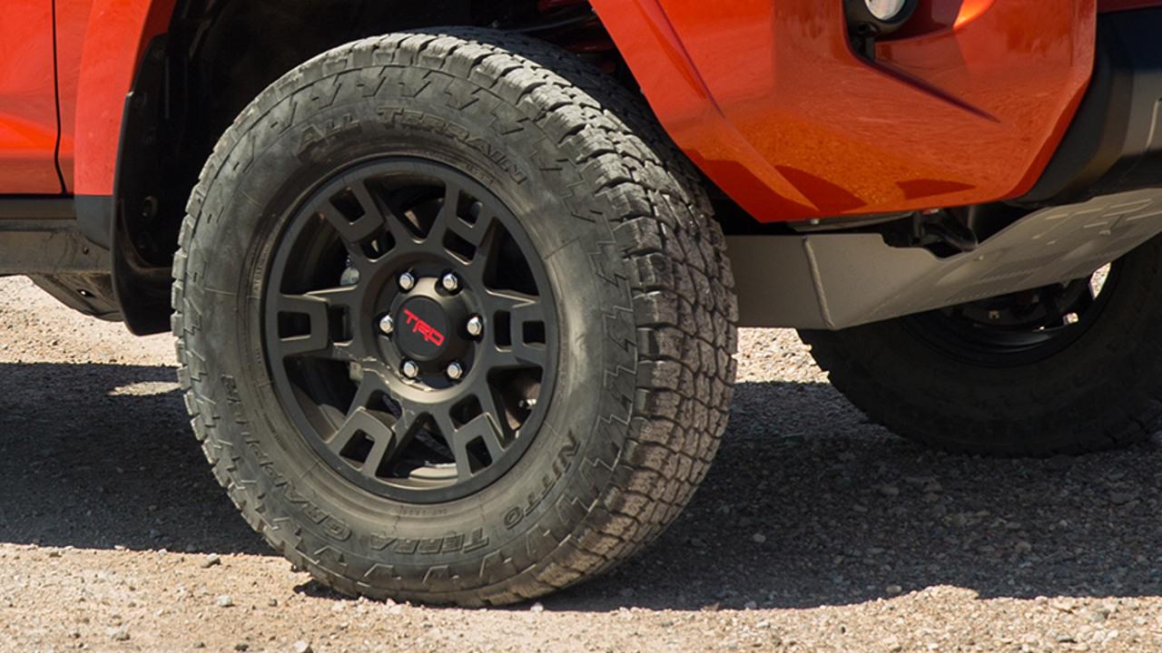 7600b713871 TRD PRO 4Runner Wheel PTR20-35110-BK - Matte Black