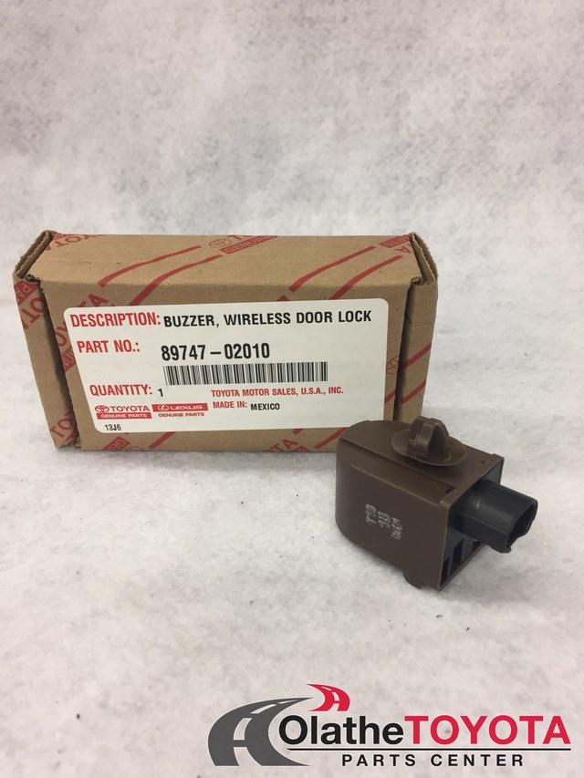 TOYOTA Genuine 89747-02010 Keyless Entry Warning Buzzer