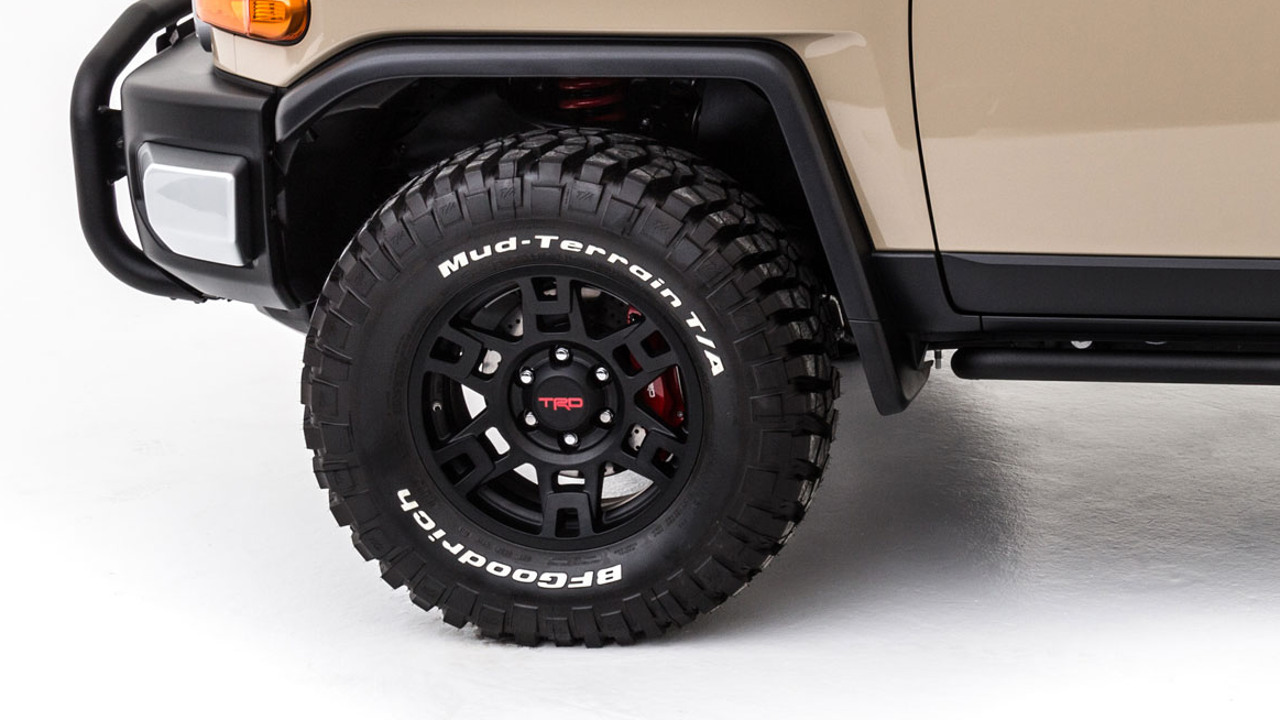 TRD 17-IN. MATTE BLACK ALLOY WHEEL