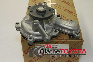 OEM Water Pump Assembly - Toyota (16100-09491)