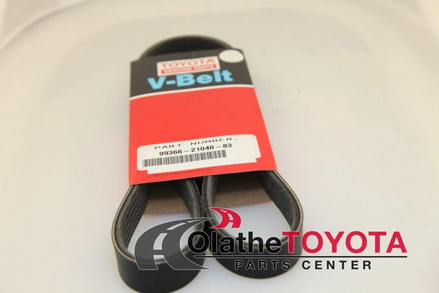 TOYOTA 99366-21040-83 Belt V-Ribbed