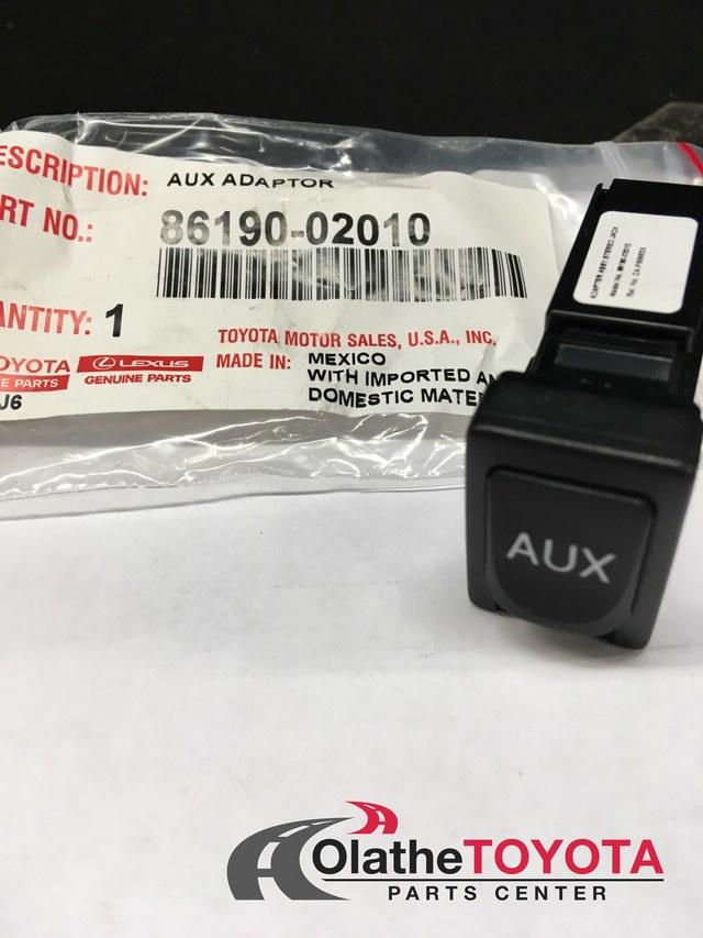 Audio Auxiliary Jack