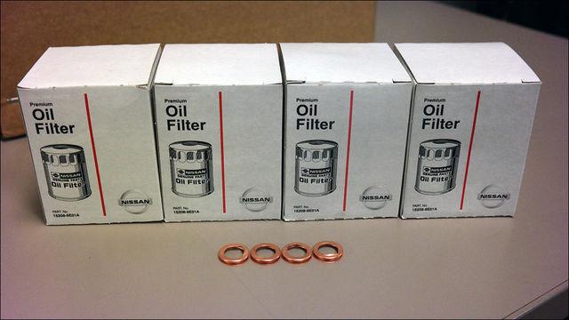 Nissan Infiniti V6/V8 Filter Kit - 4 Pack