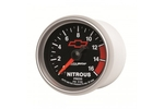 "2-1/16"" NITROUS PRESSURE, 0-1600 PSI, GM BLACK"