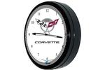 """Corvette 50th Anniversary 20"""" Neon Clock"""