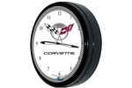 "Corvette 50th Anniversary 20"" Neon Clock"